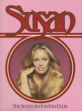 LOT OF 2 POSTER/PORTFOLIOS : SUSAN ANTON  FAN CLUB -13 PCS IN FOLDER     LC7 C
