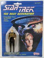 Vintage 1988 Galoob Star Trek Next Generation Lt. Tasha Yar Action Figure Toy