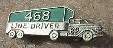 468 Local Line Driver Employee union 1962 AFL CIO Teamsters Norfolk VA