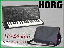 NEW KORG MS-20 mini + original softcase monophonic analog synthesizer