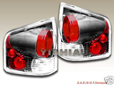 94 95 96 97 - 01 Chevy S10 Sonoma Tail Lights 3D Carbon