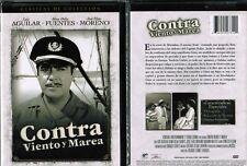 Contra Viento y Marea Spanish New DVD Jose Elias Moreno Alma Delia Luis Aguilar