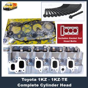Complete 1KZ TE Cylinder Head Toyota Hilux Prado with Gasket Set Head Bolts