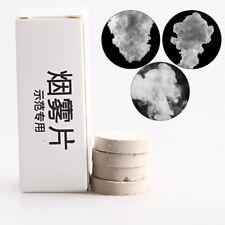 5Pcs Photography Aid Tool Toy Props Round Smoke Cake White Smoke Effect Show