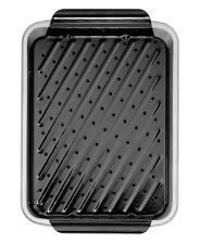 Teglie da forno grigie in alluminio