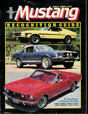 Mustang Recondition Guide by Larry Dobbs Paperback 1964 1/2 Thru 1973