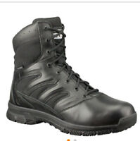 """Original S.W.A.T. Men's Force 8"""" Side Zip Military and Tactical Boot, Black"""