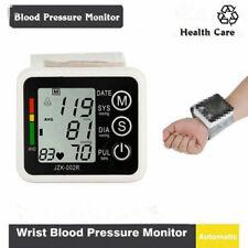 Automatic Digital LCD Wrist Cuff Blood Pressure Pulse Monitor Sphgmomanome.H5