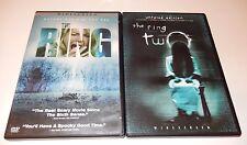 The Ring & The Ring Two 1 & 2 Naomi Watts Simon Baker  (DVD, 2-Discs) WS