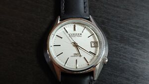 1974 Citizen Hisonic Date 3711A. JDM Tuning fork watch serviced and running.