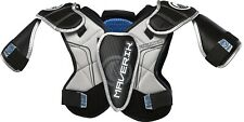 New Maverik Lacrosse Charger Shoulder Pad Set Extra Small Xs Beginner Nwt !