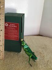 """Hop A Long 5.5"""" Slavic Treasures 501A Fb H/Blown Glass Ornament 2001 Nib"""