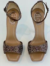 dd7703c77dc11c RENE CAOVILLA MULT-COLORED ENCRUSTED CRYSTAL PLATFORM SHOES SIZE 7.5 NEW!