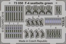 Eduard Accessories 73050 - 1:48 F-4 Seatbelts Green Steel - Ätzsatz - Neu