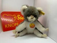 Steiff Cosy Koala Bär BAER 12 cm Knopf, Fahne 4770/12 Schild sehr guter Zustand@
