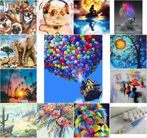 40x50cm Paint By Numbers kit DIY Paint on Canvas Frameless Acrylic Painting Kit