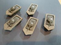 Flames of War U.S. DD Sherman D-day lot X5 Pro-Painted FOW