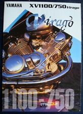 Brochures Paper YZ Yamaha Motorcycle Manuals & Literature