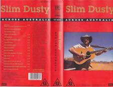 SLIM DUSTY ACROSS AUSTRALIA  VIDEO PAL VHS A RARE FIND