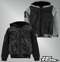Boys No Fear Long Sleeves Hooded Fleece Lined Full Zip Jacket Sizes from 7 to 13
