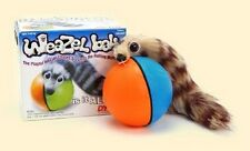 Furry weasel ball for dogs cats and kids  - see video