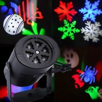 Mini LED Christmas Moving Laser Card Usable Outdoor Indoor Beauty Home Best
