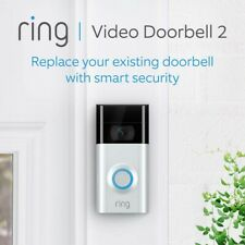 Ring 8VR1S7-0EU0 1080p HD Video Doorbell 2 (With Rechargeable Battery)