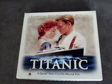 COFFRET Collector VHS  VIDEO TITANIC + Extrait de Pellicule FILM + 8 Cartes