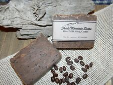 New ListingHomemade Goat's Milk Soap - Coffee