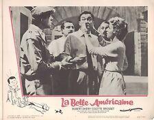 La Belle Americaine 1962 11x14 Lobby Card #7