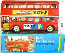 Doppio tetto Autobus Londra repubblica Lamiera rosso KA5 â