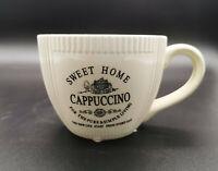 Cappuccino Tasse Home Sweet Home Tee tassen mit Henkel Suppe Kaffeetasse 200 ml
