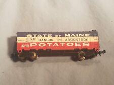 N Scale BAR Bangor & Aroostook Maine Potatoes #61572 Freight Car Boxcar