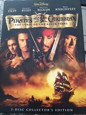 Pirates of the Caribbean:The Curse of the Black Pearl(DVD, 2-Disc)FREE SHIPPING