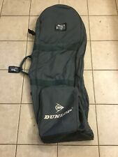 Vintage Blue Gray Dunlop Soft Golf Travel Bag