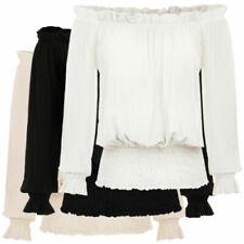 Camisas, camisetas y tops de mujer viscosos casuales