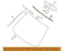 NISSAN OEM 07-12 Altima Reveal-WINDSHIELD-molding 72752JA00A