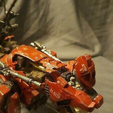 Zoids Custom 1/72 scale Saber Tiger Model kit Built up Painted weathered Red A1*
