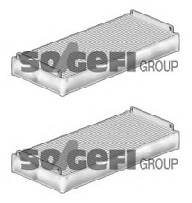Genuine Pair of Fram CF5972 Cabin Filters for Mercedes Benz E Class S Class CL