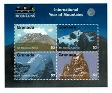 Grenada - 2002 - International Year Of Mountains - Sheet Of 4 - MNH