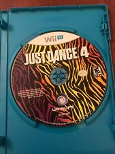 Just Dance 4 - Wii U (DISC ONLY)