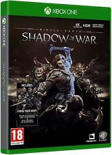 Middle-Earth Shadow of war Xbox One flambant neuf scellé LOTR Lord of the Rings