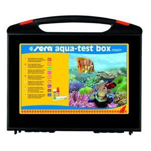 NEW Advanced Sera Aqua Test Box MARINE Master Multi Test Kit Saltwater Reef