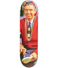 RARE MISTER ROGERS NEIGHBORHOOD Baker Skateboard Deck Supreme Fuct