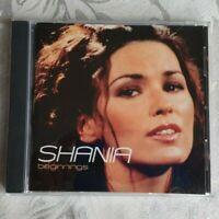 SHANIA - BEGINNINGS CD (Shania Twain)