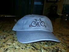Dad hat rollout new osfa adjustable bomb on foot strapback grey bicycle cycling
