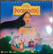 Walt Disney's Pocahontas Masterpiece Ed Letterbox Edition THX LD [5741 AS]  OOP
