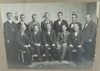".RARE 1923 MARYBOROUGH, VIC ORIGINAL PHOTO ""MARYBOROUGH SWIMMING CLUB COMMITTEE"""