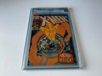X-MEN 58 CGC 8.5 1ST HAVOK IN COSTUME GREAT COVER SENTINELS MESMERO MARVEL COMIC
