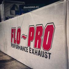 "FLO~PRO 864 4"" EXHAUST WITH MUFFLER 2011-2015 GMC/CHEVY 2500 3500 LML DURAMAX"